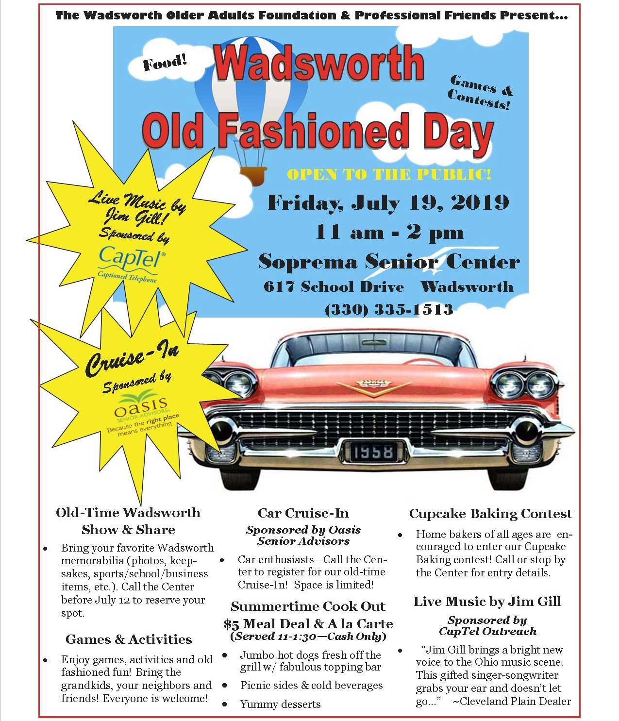 Wadsworth Old Fashioned Day 2019